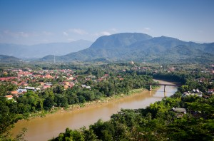 Namkhan River through Luang Prabang