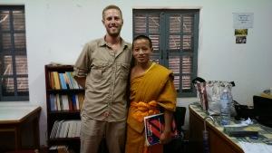 Myself with Novice Chai Vang