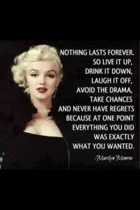 How To Live Like Marilyn Monroe