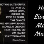 How To Live Like Marilyn Monroe!